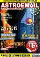 Couverture du livre « Astroemail t.117 ; octobre 2012 » de Claude Thebault aux éditions Astroemail