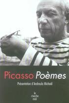 Couverture du livre « Poèmes » de Pablo Picasso aux éditions Cherche Midi