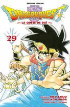 Couverture du livre « Dragon quest - la quête de Daï T.29 » de Riku Sanjo et Koji Inada aux éditions Delcourt