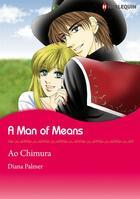 Couverture du livre « A Man of Means » de Diana Palmer et Ao Chimura aux éditions Harlequin K.k./softbank Creative Corp.