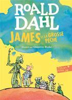 Couverture du livre « James et la grosse peche » de Roald Dahl aux éditions Gallimard-jeunesse