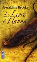Couverture du livre « Le livre d'Hanna » de Geraldine Brooks aux éditions Pocket