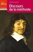Couverture du livre « Discours de la méthode » de Rene Descartes aux éditions J'ai Lu
