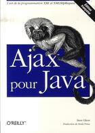 Couverture du livre « Ajax pour java » de Olson aux éditions O Reilly France