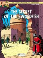 Couverture du livre « Blake et Mortimer T.16 ; the secret of the swordfish t.2 » de Edgar Pierre Jacobs aux éditions Cinebook