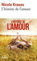 Couverture du livre « L'histoire de l'amour » de Nicole Krauss aux éditions Gallimard