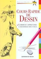 Couverture du livre « Cours Rapide De Dessin » de Manera aux éditions De Vecchi