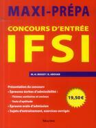 Couverture du livre « Concours d'entree ifsi » de Abouab/Massit aux éditions Maloine