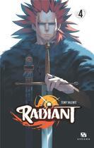 Couverture du livre « Radiant T.4 » de Tony Valente aux éditions Ankama