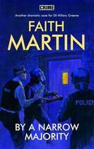 Couverture du livre « By a Narrow Majority » de Martin Faith aux éditions Hale Robert Digital