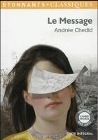 Couverture du livre « Le message » de Andree Chedid aux éditions Flammarion