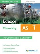 Couverture du livre « Edexcel AS Chemistry Student Unit Guide New Edition: Unit 1 The Core P » de Facer George aux éditions Hodder Education Digital
