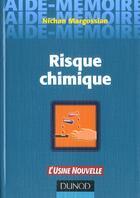 Couverture du livre « Risque Chimique » de Nichan Margossian aux éditions Dunod