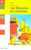 Couverture du livre « Les Bidochon T.2 ; en vacances » de Christian Binet aux éditions J'ai Lu