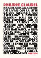Couverture du livre « De quelques amoureux des livres » de Philippe Claudel aux éditions Finitude