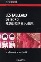 Couverture du livre « Les Tableaux De Bord Ressources Humaines » de Editions Liaiso aux éditions Liaisons