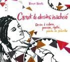 Couverture du livre « Carnet de dessins inachevé... » de Veronique Vernette aux éditions Points De Suspension