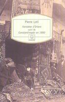Couverture du livre « Fantomes d'orient » de Pierre Loti aux éditions Motifs