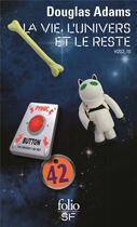 Couverture du livre « H2G2 t.3 ; la vie, l'Univers et le reste » de Douglas Adams aux éditions Gallimard