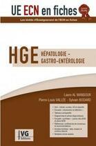 Couverture du livre « Ue ecn en fiche hepatologie 3 » de Al Mansour aux éditions Vernazobres Grego