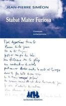 Couverture du livre « Stabat mater furiosa » de Jean-Pierre Simeon aux éditions Solitaires Intempestifs