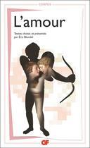 Couverture du livre « L'amour » de Collectif aux éditions Flammarion