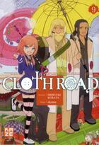 Couverture du livre « Clothroad t.9 » de Hideyuki Kurata et Okama aux éditions Kaze