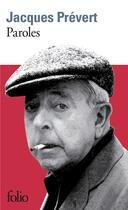 Couverture du livre « Paroles » de Jacques Prevert aux éditions Gallimard