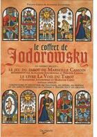 Couverture du livre « Les tarots de Jodorovsky ; coffret » de Alexandro Jodorowsky aux éditions De Vecchi