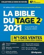 Couverture du livre « La bible du tage 2 (édition 2021) » de Franck Attelan aux éditions Studyrama