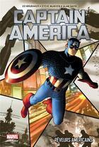 Couverture du livre « Captain America T.1 ; réveurs américains » de Collectif et Alan Davis et Steve Mcniven et Ed Brubaker aux éditions Panini