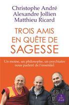 Couverture du livre « Trois amis en quête de sagesse » de Alexandre Jollien et Christophe Andre et Matthieu Ricard aux éditions A Vue D'oeil