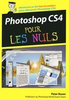 Couverture du livre « Photoshop CS4 pour les nuls » de Bauer Peter John aux éditions First Interactive