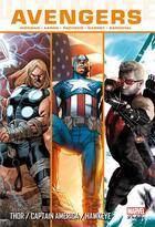 Couverture du livre « Ultimate Avengers T.4 ; Thor / Captain America / Hawkeye » de Carlos Pacheco et Jonathan Hickman et Ron Garney et Rafa Sandoval et Jason Aaron aux éditions Panini