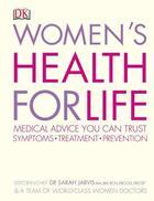 Couverture du livre « Women'S Health For Life » de Jarvis & Anonymous C aux éditions Dorling Kindersley