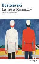 Couverture du livre « Les frères Karamazov » de Fedor Mikhailovitch Dostoievski aux éditions Gallimard