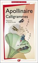 Couverture du livre « Calligrammes » de Guillaume Apollinaire aux éditions Flammarion