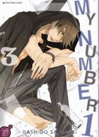 Couverture du livre « My number one T.3 » de Hashigo Sakurabi aux éditions Taifu Comics
