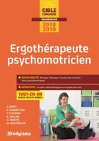 Couverture du livre « Ergothérapeute ; psychomotricien ; tout-en-un (concours 2018/2019) » de Collectif aux éditions Studyrama