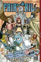 Couverture du livre « Fairy tail t.21 » de Hiro Mashima aux éditions Pika