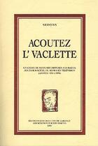 Couverture du livre « Acoutez l'vaclette » de Simons aux éditions Publi-nord