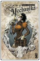 Couverture du livre « Lady Mechanika T.2 ; révélations » de Peter Steigerwald et Joe Benitez aux éditions Glenat Comics