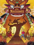 Couverture du livre « Namasté T.3 ; les larmes de la sorcière Asuri » de Aurelie Guarino et Eddy Simon aux éditions Sarbacane