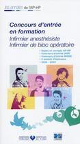 Couverture du livre « Concours d'entrée iade-ibode ; sujets et corrigés 2006/2009 » de Collectif aux éditions Lamarre