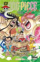 Couverture du livre « One Piece - édition originale T.94 ; le rêve des guerriers » de Eiichiro Oda aux éditions Glenat