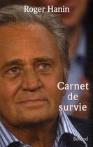 Couverture du livre « Carnets de survie » de Hanin R aux éditions Balland