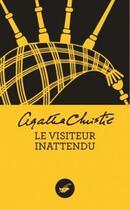 Couverture du livre « Le visiteur inattendu » de Agatha Christie aux éditions Editions Du Masque