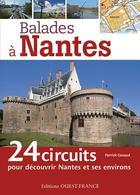 Couverture du livre « Balades à Nantes » de Pierrick Gavaud aux éditions Ouest France
