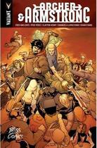 Couverture du livre « Archer & Amstrong ; intégrale » de Khari Evans et Emanuela Lupacchino et Pere Perez et Clayton Henry et Fred Van Lente aux éditions Bliss Comics