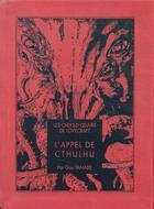 Couverture du livre « L'appel de Cthulhu » de Howard Phillips Lovecraft et Gou Tanabe aux éditions Ki-oon
